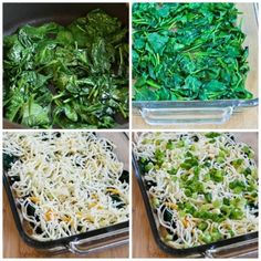 This Low-Carb Spinach and Mozzarella Egg Bake has spinach, mozzarella, and green onion and just enough egg to hold it together! Delicious Breakfast Recipes, Low Carb Dinner Recipes, Snack Recipes, Cooking Recipes, Breakfast Healthy, Healthy Recipes, Healthy Meals, Keto Recipes, Quiche Recipes