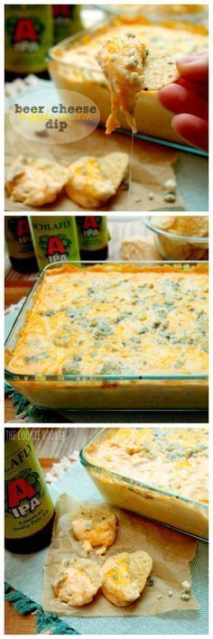 Beer Cheese Buffalo Chicken Dip - my favorite!! {The Cookie Rookie} (scheduled via http://www.tailwindapp.com?utm_source=pinterest&utm_medium=twpin)
