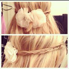 Hippie hair.