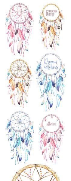Traumf 228 Nger Tattoo Vorlage Mit Federn Und Blumen Tattoo