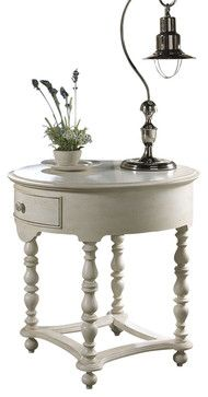 Summer Home Drawer End Table - traditional - side tables and accent tables - Carolina Rustica