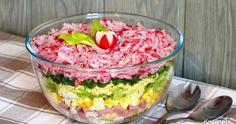 Sprawdź to, zjedz to! Halloumi, Tzatziki, Guacamole, Acai Bowl, Salad Recipes, Food And Drink, Pudding, Lunch, Breakfast