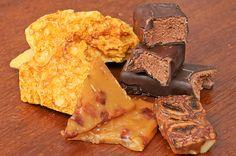 Honeycomb, lollos de nutella e caramelo de bacon estão entre as novidades da Big Bang Candy Lab para a Feirinha Gastronõmica (Foto: Divulgação)