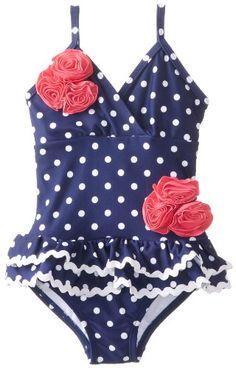 Hartstrings Little Girls'    Polka Dot Ruffle Skirt One Piece Swimsuit, Blue White Print, 6 Hartstrings http://www.amazon.com/dp/B00GKB4SC4/ref=cm_sw_r_pi_dp_Obtpub1HTQA79