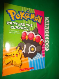 Pokemon Capture The Claydol First Printing 2006 book find me at www.dandeepop.com