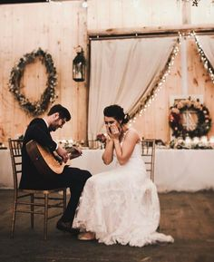 I want my future husband to play guitar and sing for me at our wedding!