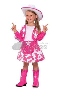 Halloween Costumes pink handsome cowboy Costumes