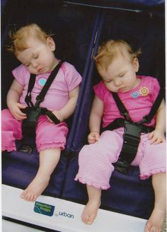 Identical Twins Sleeping Identically