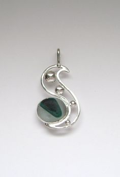 Sea Glass Jewelry  Sterling Rare Victorian by SignetureLine, $85.00
