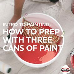 Are you painting a large space? Learn how to mix multiple cans of paint to complete the job with consistent colour. Garage Floor Finishes, Concrete Garages, Furniture Scratches, Jesus Tattoo, Tape Painting, Indoor Fountain, Paint Supplies, Oil Stains, Painters Tape