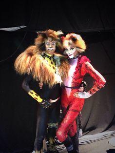 Cats tour 2013. Tugger: Richard Astbury, Bombalurina: Melissa James