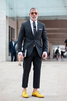 Nick Wooster (its all about his shoes!)