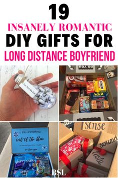 this diy gifts for long distance boyfriend are seriously so cute. I can't wait to make one for my bf when he leaves for college in a few weeks!