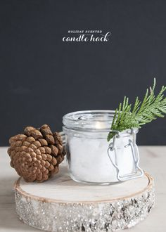 Make an Unscented Candle Scented via House of...   CreateForLess Tumblr