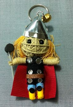 Hey, I found this really awesome Etsy listing at https://www.etsy.com/listing/174517111/thor-movie-avengers-string-voodoo-doll