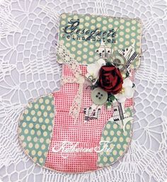Stocking Gift Card Holder with Template and Video How To