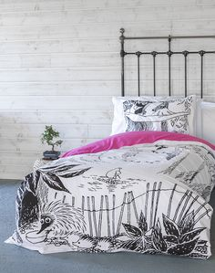 Welcome to Moominvalley - the official home of the Moomins Clutter Free Home, Konmari, Nordic Design, Perfect For Me, Home Textile, Bold Colors, Exterior Design, Living Spaces, Tove Jansson