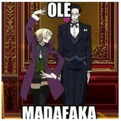 Olè! XD Claude: *pokerface*   Kuroshitsuji II -- Alois Trancy & Claude Faustus