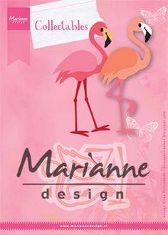 Marianne Design - Die - Collectables - Eline's flamingo - COL1456