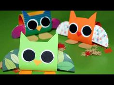 Owl Crafts Kids, Craft Kids, Fall Crafts For Kids, Paper Owls, Autumn Crafts, Pikachu, Fictional Characters, Art, Toddler Arts And Crafts