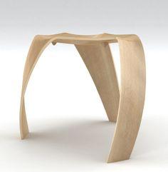 Molded Plywood Stool