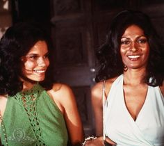 Pam Grier and Juanita Brown in Foxy Brown (1974)