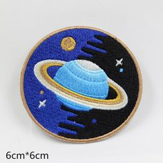 Iron on patch Galaxy Planets Space Patch Cool Patch Embroidered Patch Perfect…