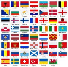 Bandeiras vectoriais europeias em ordem alfabética sobre fundo branco — Ilustração de Stock Countries And Flags, Countries Of The World, Iptv Sports, Flag Of Europe, Switzerland Flag, Alphabetical Order, Faroe Islands, Norway, Creme