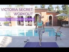 Victoria's Secret Workout with Weights - YouTube