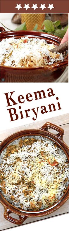 Keema Biryani!! Slow cooked Spicy Heaven ❤️ Easy home cooking!! CLICK for RECIPE