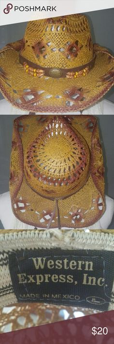 HAT Badass Mexican Cowboy Hat! EUC!!! Accessories Hats