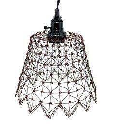 French Wire Pendant Lamp in Green/Rust Colonial Tin Works http://www.amazon.com/dp/B00ECC0HN2/ref=cm_sw_r_pi_dp_Ueq3ub0HCX4DW