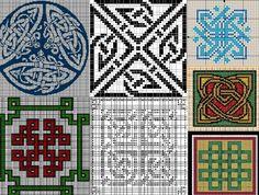узоры кельтские крестиком - Поиск в Google