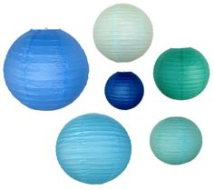 Get beautiful Chinese Japanese paper lanterns in blue color shades like turquoise, navy, teal and sky blue at Just Artifacts. We also offer many styles of paper Lanterns in various sizes at great discounts.
