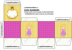 Caixa Bis Princesa Loira Beach Mat, Outdoor Blanket, Flag, Character, Princess Rapunzel, Box Picture Frames, Party Kit, Kids Part, Blond