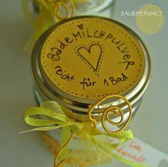 *ZAUBERPUNKT*: Muttertagsgeschenk { DIY ... auch für Kinder }