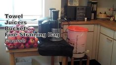 Cider making made simple at home: Juice and strain