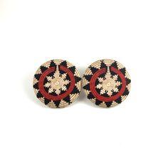T.Connor - Navajo basket earrings