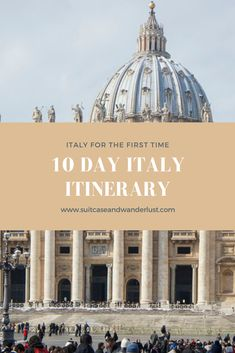 10 day Italy itinerary for first time visitors. Let me guide you through the must-see cities of Italy in 10 days. How to get around and the best sights to visit. Italy Travel Tips, New Travel, Train Travel, Travel Europe, Photography Guide, Visit Italy, Destinations, Best Cities, 10 Days