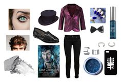 """""""Magnus Bane Inspired Outfit"""" by missash8 ❤ liked on Polyvore featuring Lime Crime, Urban Decay, Aerosoles, Luv Aj, Dorothy Perkins, Bling Jewelry, Paige Denim, women's clothing, women's fashion and women"""