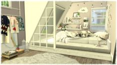 Create An Amazing Modern Bedroom In The Sims 4 Bedroom Sets — Home Modern Ideas Sims 4 Toddler, Toddler Rooms, Sims 4 Bedroom, Bedroom Sets, Tumblr Sims 4, The Sims 4 Bebes, Sims 4 Beds, Muebles Sims 4 Cc, Sims 4 House Design