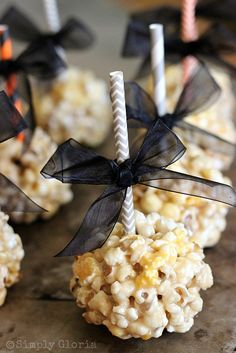 Caramel Marshmallow Popcorn Balls