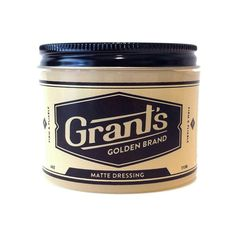 Grant's Golden Brand Pomade Matte Dressing - PUTTIES, POMADES, AND GELS - HAIR | THE MOTLEY