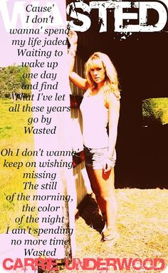 Country Music Lyrics #Carrie Underwood