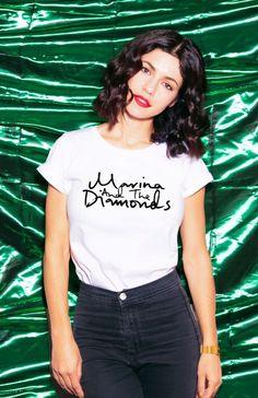 i want this Marina and the Diamonds shirt