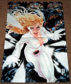CLOAK AND DAGGER POSTER MARK BROOKS AMAZING SPIDER-MAN DAREDEVIL MARVEL COMICS