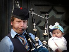 Watching the Piper: http://www.picturebritain.com/2013/03/edinburgh-from-inside.html