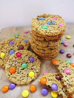Katia au pays des merveilles: Biscuits monstrueux sans gluten + nouveaux emballages de Smarties