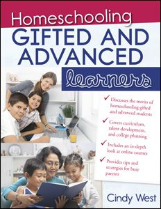 """Repin to win! The June 2012 book giveaway at RedWhiteandGrew.com is Cindy West's """"Homeschooling Gifted and Advanced Learners"""""""