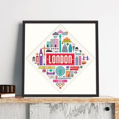 We love London and reckon you do too! So weve celebrated all its little quirks and icons in this truly enormous feature pattern! It contains just whole stitches making it ideal for all levels of stitcher.    (Not for the faint hearted) it measures: 278 sitches wide x 287 stitches high    Finished stitched area:  16 ct aida - 17½x 18 (44 x 45 cm)  18 ct aida - 15½ x 16 (39 x 40cm)    This is a PDF file of a cross stitch pattern, not the finished product. You will need to have a PDF reader…